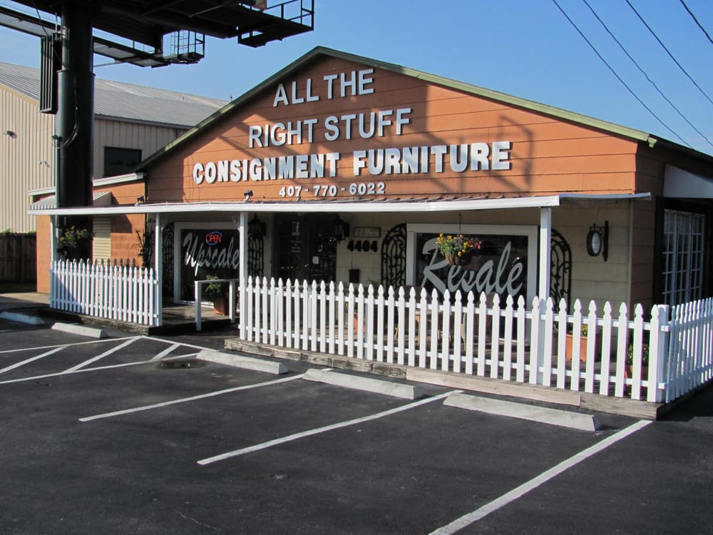All The Right Stuff Consignment Furniture Furniture Stores Horizons West West Orlando