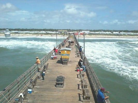 Bogue inlet fishing pier fishing emerald isle nc yelp for Fishing emerald isle nc
