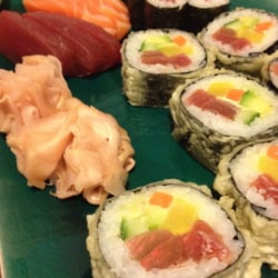 Tuna Crunch, Sashimi and rolls