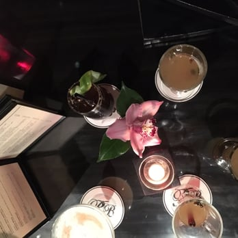 ... States. Aerial view of our drinks (a few hot toddies, and whisky sour