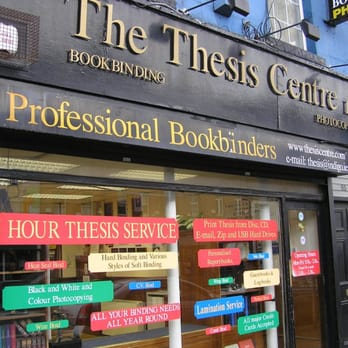 Thesis centre dublin ireland