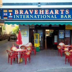 Bravehearts bar, Lloret de Mar, Girona, Spain