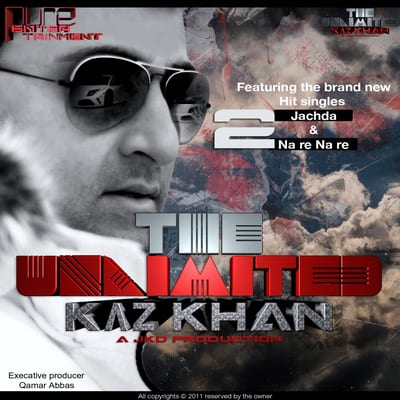 Kaz Khan singer artist, London