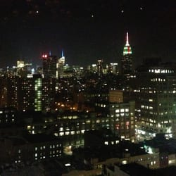 Standard Hotel - Great views of the city from the 18th floor bar - New York, NY, Vereinigte Staaten
