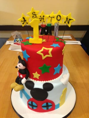 Mickey Mouse Birthday Cakes Near Me