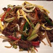 Seoul Gate Restaurant - Fairbanks, AK, États-Unis. Yakisoba a little salty