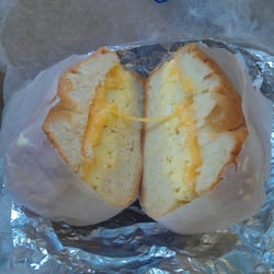 Ashby's - Egg and Cheese on a roll - New York, NY, Vereinigte Staaten