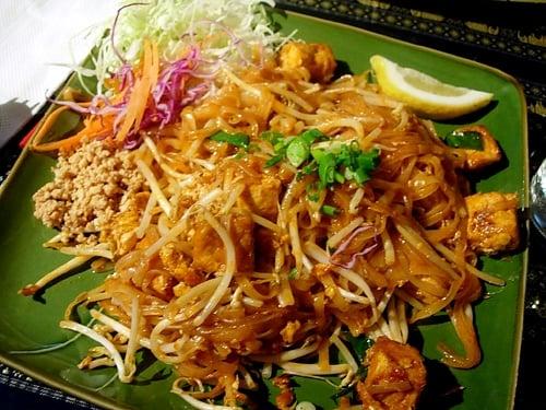 Tofu and Shrimp Pad Thai Recipe..