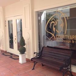Courtyard s hair design spa hair salons fern park for Courtyard designs with spa