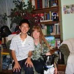 The Homework Club - Santa Clara, CA, États-Unis. Foreign Exchange Student and Miss Marla