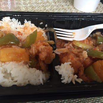 Simply Thai Bistro - Frisco, TX, United States. Sweet and sour chicken