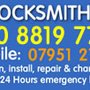 Walthamstow Locksmith, 24h Locksmith Services