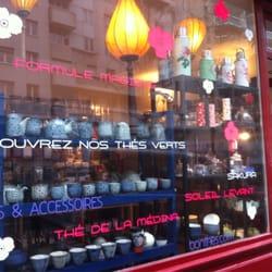La vitrine de la boutique