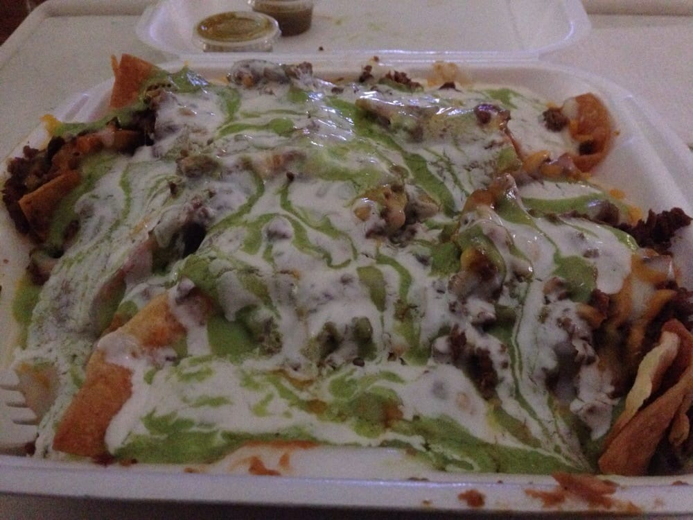 ... Barca - Delano, CA, United States. Asada Nachos with all the fixings