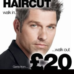 Mens haircut walk-in stand-by appointment from only £20