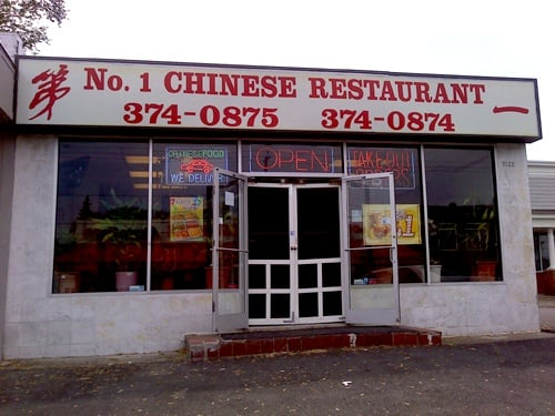Number One Chinese Take Out Restaurant Chinese