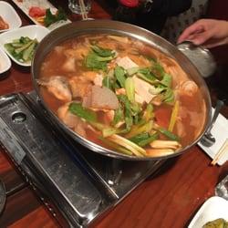 Seoul Gate Restaurant - Fairbanks, AK, États-Unis. Spicy Fish Stew