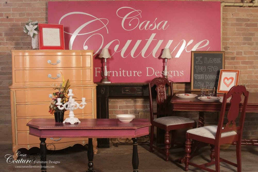 casa couture furniture designs used vintage