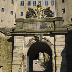 Das barocke Medusentor im…