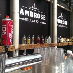 Ambrose Beer Garden Bars South Street Seaport New York Ny Yelp