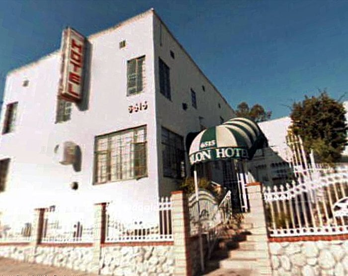 Trylon hotel hotels hollywood hills los angeles ca for Hotels 90028