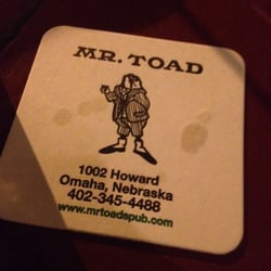 mr toad omaha