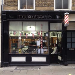 Classic looking barbers with great…