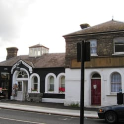 The building was once Osterley Park and Spring Grove railway station on the Metropolitan District Railway