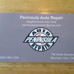 Peninsula Auto Repair Mountain View Ca Yelp