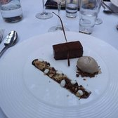 Chocolate Pave Dessert at the Chip