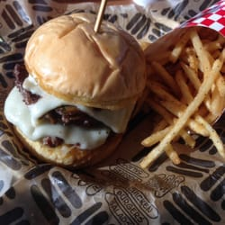 Jaggers - Double mushroom Swiss burger - Noblesville, IN, United ...