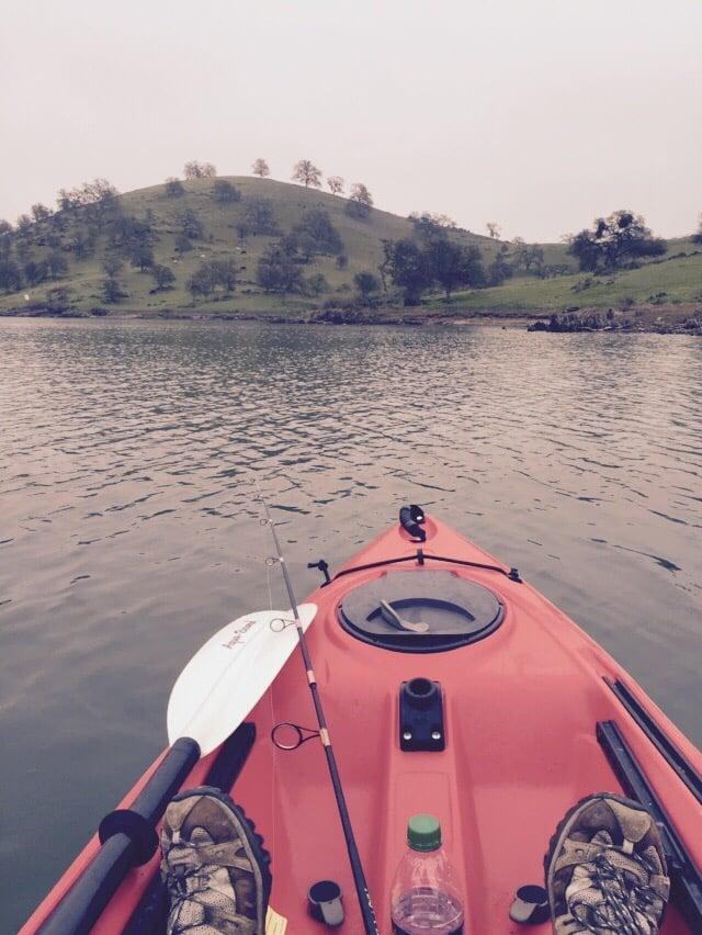 Great for kayaking yelp for Lake mcclure fishing report