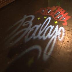 Le Balajo - Paris, France. Projeté sur le sol à l'entrée
