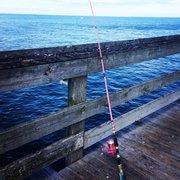 Lynnhaven inlet fishing pier boating virginia beach for Lynnhaven fishing pier