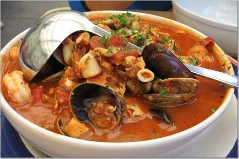 Best cioppino in phils market moss landing yelp for Phil s fish market eatery