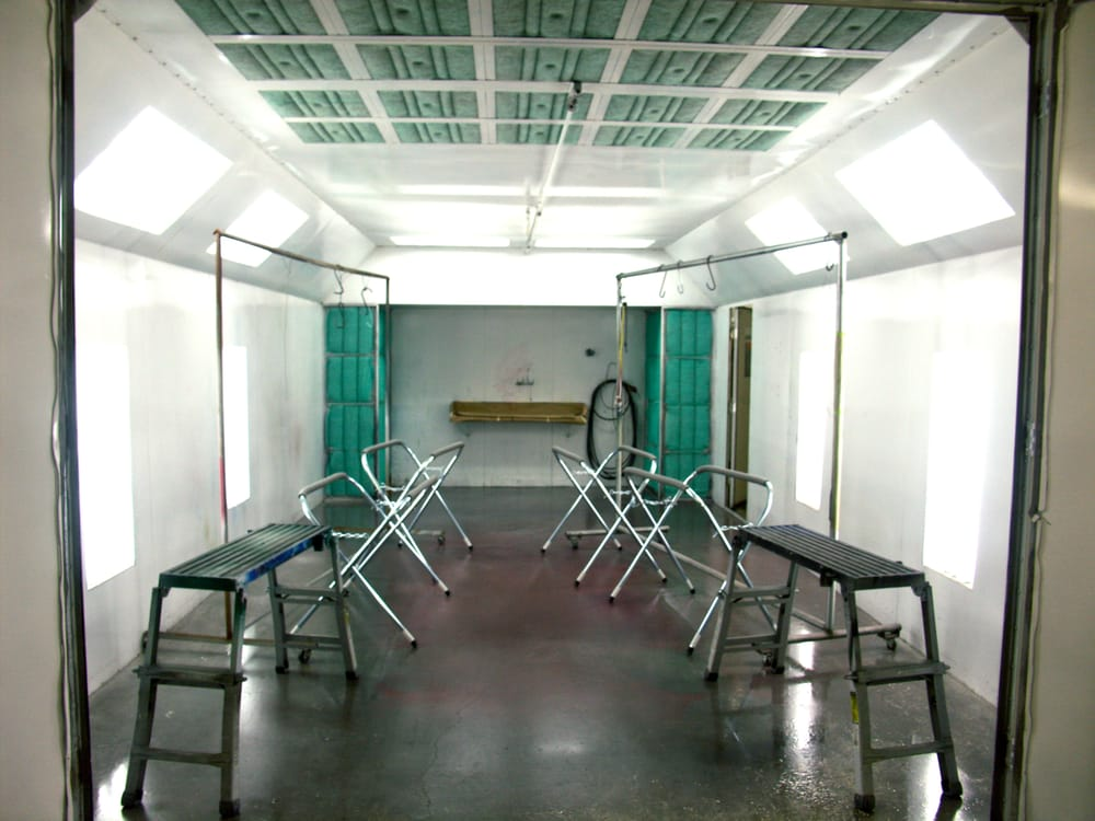 rent a paint booth body shops gresham or yelp