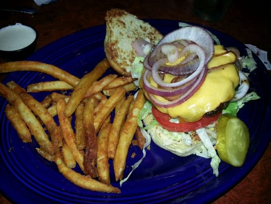 Guava Burger +grilled onions & +American cheese | Yelp