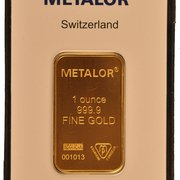 1oz gold bar - best prices available at www.bullionbypost.co.uk