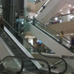 Escalator and elevator atrium