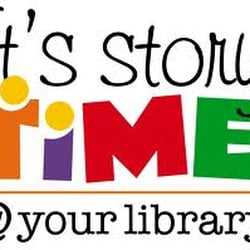 Children's story time from 2.15pm on Tuesdays