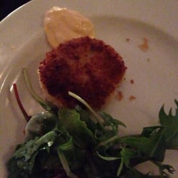 Crab cake appetizer - very good!