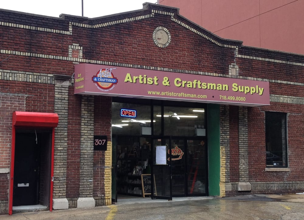 Artist craftsman supply 10 photos art supplies for Craft stores in brooklyn