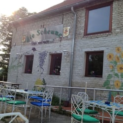 Cafe Die Scheune, Nuthe-Urstromtal, Brandenburg, Germany