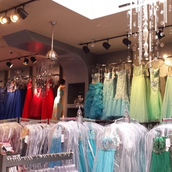 A variety of dresses: Prevue dress store