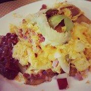 CS's big (avocado, salsa sauce, eggs,…