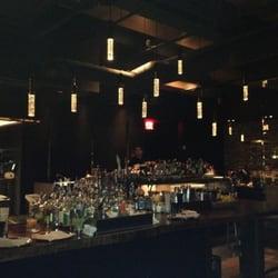 The Bar Downstairs - open kitchen area - New York, NY, Vereinigte Staaten