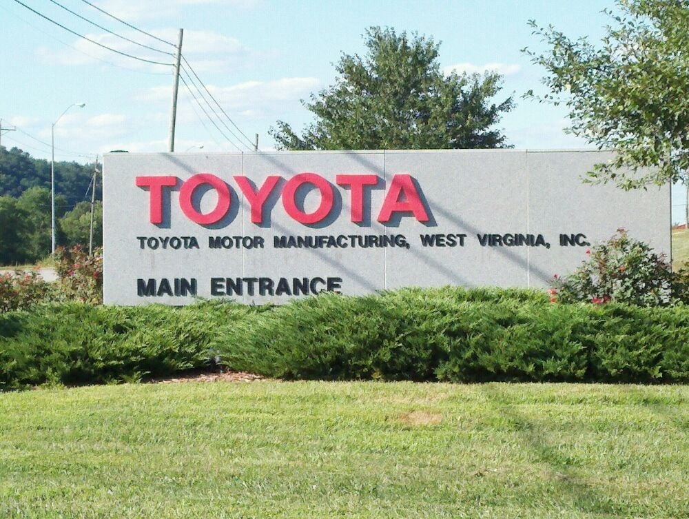 Toyota Motor Manufacturing West Virginia Buffalo Wv