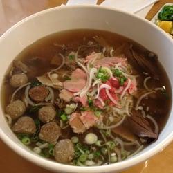 Pho Garden Pho Challenge With Evil Hidden Noodles San