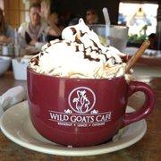 Wild Goats Cafe - Kent, OH, États-Unis. Hot chocolate!