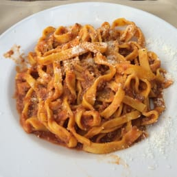 Bolognese fettuccine. So good!!
